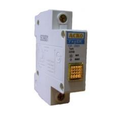 Сигнальна лампа на DIN-рейку СЛ-2001 жовта 220 V AC АскоУкрем
