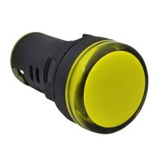 Світлосигнальна арматура AD22-22DS  жовта 380V АC АскоУкрем