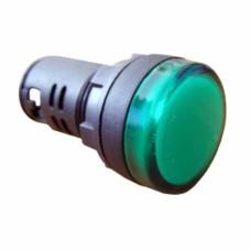 Світлосигнальна арматура AD22-22DS  зелена 380V АC АскоУкрем