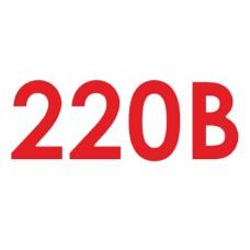 Знак 220В (комплект 10шт)