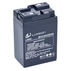 Акумулятор гелевий 6В/4,5Аг LX645  LUXEON