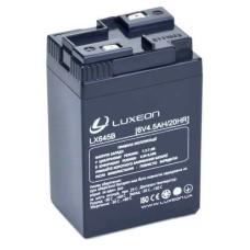 Акумулятор гелевий 6В/4,5Аг LX645B LUXEON