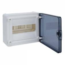 Бокс VS112TD, 12 модулів, зовнішній, прозора дверка, GOLF Hager