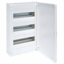 Бокс VS312PD, 36 модулів, зовнішній, біла дверка, GOLF Hager