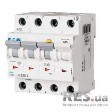 Диференційний автоматичний вимикач mRB6-16/3N/C/0.03-A 16А 30мА 3+Нп Eaton