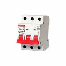 Автоматичний вимикач e.mcb.stand.45.3.C10 3p E.next