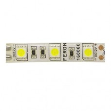 Стрічка світлодіодна smd5050/60/IP65 холодний білий (12В) Feron LS607