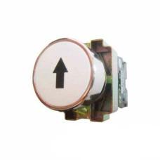 Кнопка XB2-BA3341 1NO біла зі стрілкою АскоУкрем