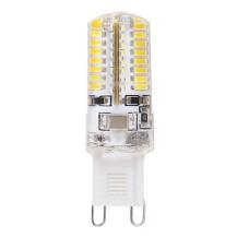 Лампа світлодіодна капсульна силікон 3W 230V G9 4500K LM277 Lemanso