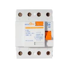 Пристрій захисного відключення ПЗВ 3+Нп/25А/30мА  EcoHome