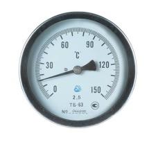 Термометр біметалічний ТБ-63-100 (0...+150)-2,5-О Склоприлад