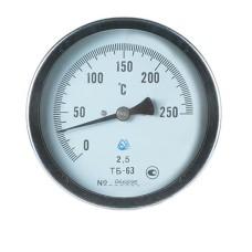 Термометр біметалічний ТБ-63-160 (0...+250)-2,5-О Склоприлад