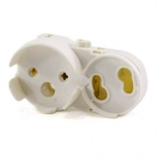 Утримувач 140 для лампи G13 накидний+стартер
