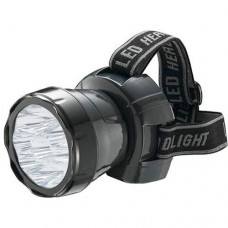 Ліхтар світлодіодний акумуляторний налобний 0.9W 9Led Horoz HL349L