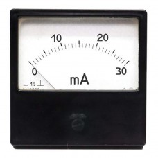Амперметр постійного струму М42300 (0...30мА)/пряме ввімкнення (щит.80х80) /2,5Кл