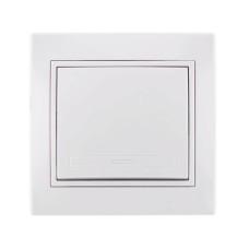 Вимикач 1кл білий MIRA Lezard 701-0202-100