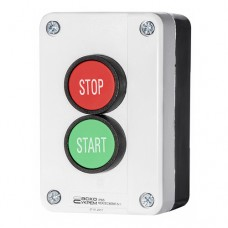 Пост керування XAL-B215 1NO+1NC 2-місний  Start - Stop зелена/червона АскоУкрем