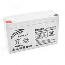 Акумуляторна батарея RT6120A 6V 12 Ah AGM RITAR