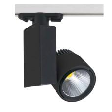 Світильник трековий LED 40W 4200K чорний HL829L 018-005-0040 Horoz