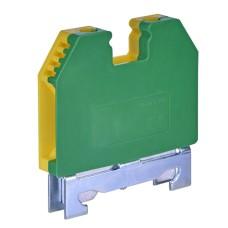 Клема набірна на DIN-рейку (жовто-зелена) VS -6 PE ETI