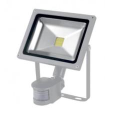 Прожектор LED 10Вт + датчик руху 6500K  IP65 LMPS14 Lemanso