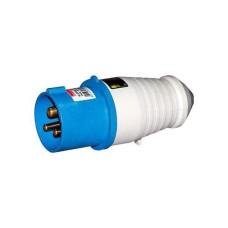 Вилка переносна ВП  16А/5 3Р+N+РЕ (015) e.plug.pro e.next