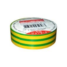 Ізоляційна стрічка e.tape.stand.20 м жовто-зелена e.next