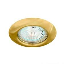 DL3204 Світильник точковий золото Lemanso