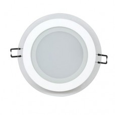LED panel круг 12W 6400K білий HL688LG  016-016-0012 Horoz