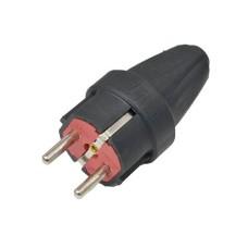 Вилка переносна Horoz Electric Каучук (300-000-804)