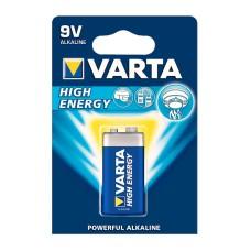 Батарейка Varta 6LR61 High Energy Alcaline (4922121411)