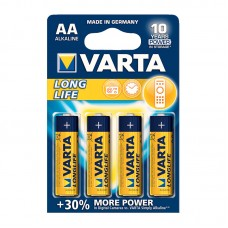 Батарейка VARTA LONGLIFE AA BLI 4 (4106101414)