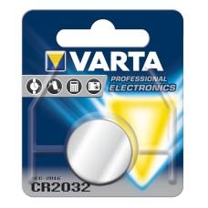 Батарейка VARTA CR 2032 BLI 1 LITHIUM (6032101401)