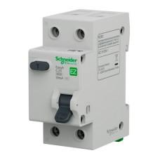 Диференціальний автоматичний вимикач 1P+N 25A C Easy9 Schneider Electric (EZ9D34625)