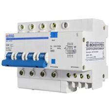 Диференціальний автоматичний вимикач ДВ-2006 32А 30мА 3+Нп. АскоУкрем