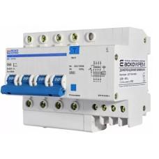 Диференціальний автоматичний вимикач ДВ-2006 63А 30мА 3+Нп. АскоУкрем
