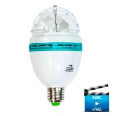 Лампа світлодіодна Disco 3W E27 RGB LB-800 Feron
