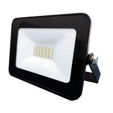 Прожектор LED 20Вт 6500K IP65 1440LM чорний LMP15-20 Lemanso