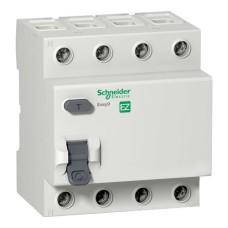 Диференційний вимикач навантаження (ПЗВ) EZ9 4p 63A C Easy9 Schneider Electric (EZ9R34463)