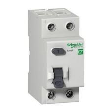 Диференційний вимикач навантаження (ПЗВ) EZ9 2p 63A C Easy9 Schneider Electric (EZ9R34263)