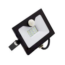 Прожектор LED 10Вт з датчиком руху 6500K  IP65 LMPS15 Lemanso