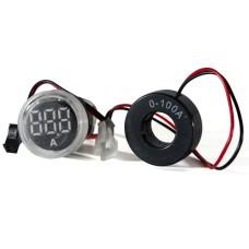 Амперметр цифровий ED16-22 АD  білий 0-100 А  АскоУкрем
