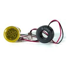 Амперметр цифровий ED16-22 АD жовтий 0-100 А АскоУкрем