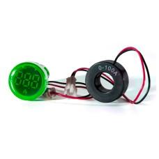 Амперметр цифровий ED16-22 АD зелений 0-100 А АскоУкрем