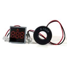 Амперметр цифровий ED16-22 FАD червоний 0-100 А АскоУкрем