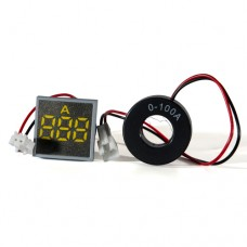 Амперметр цифровий ED16-22 FАD жовтий 0-100 А АскоУкрем
