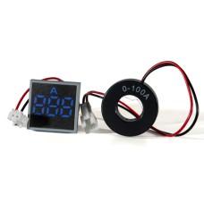 Амперметр цифровий ED16-22 FАD синій 0-100 А АскоУкрем