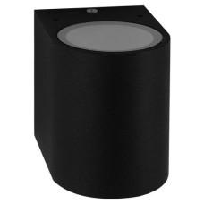 Фасадний світильник Feron DH014 Чорний GU10 (11866)