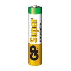Батарейка лужна AAA, LR03 1,5В Super Alkaline GP
