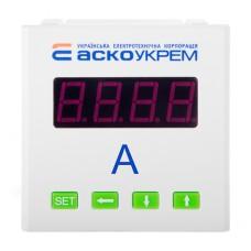Амперметр цифровий 5А AС  80х80 ( ЦА-8 ) АскоУкрем